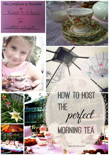 perfect morning tea