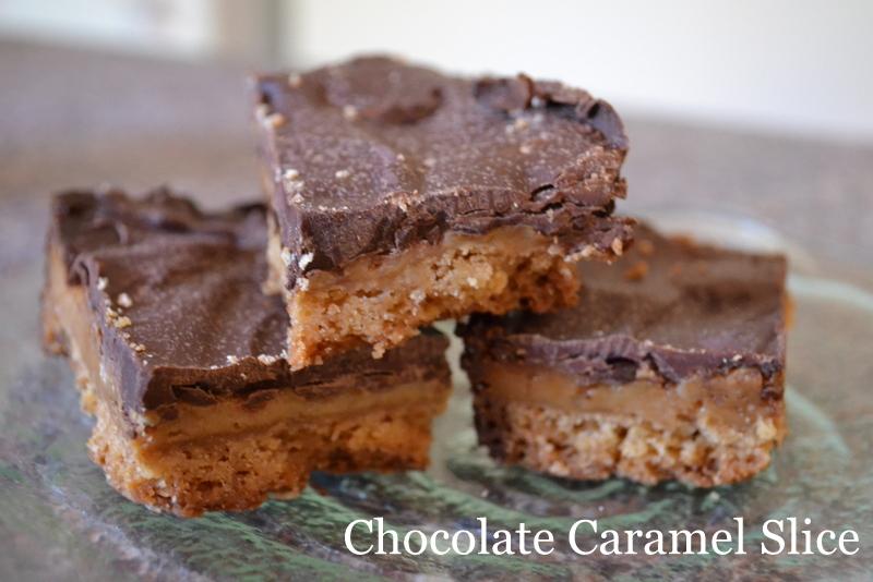 Chocolate Caramel Slice Recipe | Miscellaneous Mum